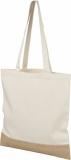 Bawełniano-jutowa torba na zakupy Delhi (12046700)