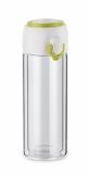Bidon szklany VAKO 260 ml zielony jasny (16206-13)