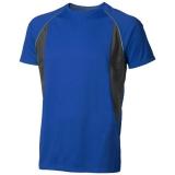Elevate Męski T-shirt Quebec z krótkim rękawem z tkaniny Cool Fit odprowadzającej wilgoć (39015446)
