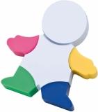 Ludzik z zakreślaczami z logo (2886606)