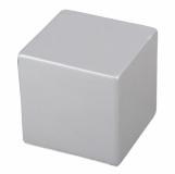 Antystres Cube, srebrny z logo (R73916.01)