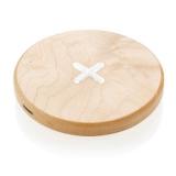 Drewniana ładowarka bezprzewodowa 5W (P308.819)