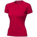 Slazenger Damski T-shirt Serve z krótkim rękawem z tkaniny Cool Fit odprowadzającej wilgoć (33020251)