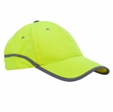 Czapka odblaskowa Be Active, żółty z nadrukiem (R08719.03)