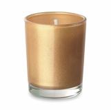 SELIGHT Mała szklana świeca z logo (MO9030-98)