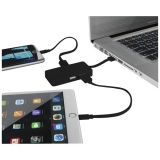 Hub USB Grid z dwoma kablami (13426800)