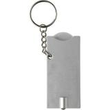 Brelok do kluczy, żeton do wózka na zakupy, lampka LED (V2452-32)