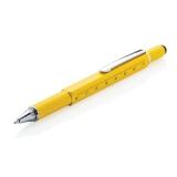 Długopis wielofunkcyjny, poziomica, śrubokręt, touch pen (V1996-08)