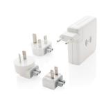 Adapter podróżny, bezprzewodowy power bank 6700 mAh (P820.551)