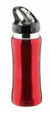 Bidon stalowy 550 ml czerwony (17511-04)