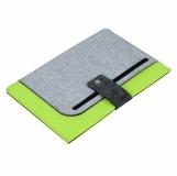 Teczka na tablet Eco-Sense, zielony/szary z nadrukiem (R08619.05)