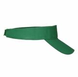 Daszek przeciwsłoneczny Aveiro, zielony z logo (R08752.05)