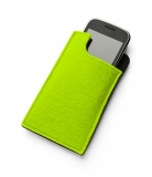 Etui na telefon zielone jasne (20401-13)