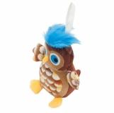 Maskotka Owl, brązowy z logo (R74030)