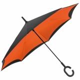 Parasol składany odwrotnie z logo (4047610)