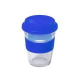 Szklany kubek podróżny 350 ml (V0987-11)