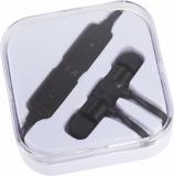 Avenue Metalowe słuchawki douszne Bluetooth&reg Martell Magnetic z futerałem (10830900)