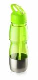 Bidon ze słomką 600 ml zielony jasny (17627-13)