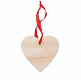 WOOHEART Zawieszka serce z logo (MO9376-40)