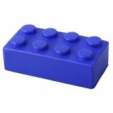 Antystres Block, niebieski z nadrukiem (R73917.04)