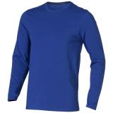 Elevate Męski T-shirt organiczny Ponoka z długim rękawem (38018446)