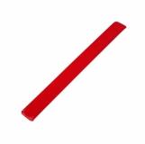 Opaska odblaskowa, czerwony z logo (R17763.08)