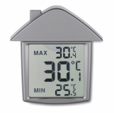TERMOHOUSE Termometr z przyssawką, dom z logo (MO7456-16)