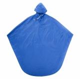 Peleryna przeciwdeszczowa Stop Rain, niebieski z nadrukiem (R74017.04)