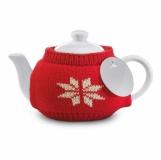 ESPOO Dzbanek do herbaty w sweterku z logo (CX1358-05)