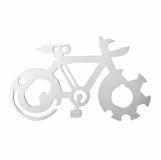 Narzędzie wielofunkcyjne Bikewise, srebrny z logo (R17490.01)