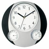 Zegar ścienny, stacja pogodowa (V3251-03)