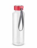 Butelka CLEAR 500 ml czerwony (16210-04)