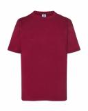 T-shirt dla dzieci 150 BURGUNDY (TSRK 150 BU)