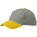 Slazenger 6 panelowa czapka z paskiem ściągającym (13403804)
