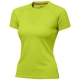 Slazenger Damski T-shirt Serve z krótkim rękawem z tkaniny Cool Fit odprowadzającej wilgoć (33020681)