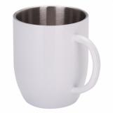 Kubek stalowy Day 350 ml, biały  (R08343.06)