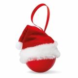 BOLIHAT Świąteczna bombka w mikołajowe z logo (CX1377-05)
