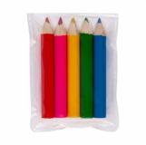 Kredki Mini Rainbow, mix z logo (R74022.99)