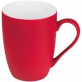 Kubek ceramiczny - gumowany z logo (8065505)