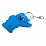 Brelok odblaskowy Beary, niebieski  (R73245.04)