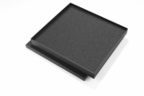 Pudełko upominkowe JAVO (indywidualny wykrojnik) czarny (02020Z)