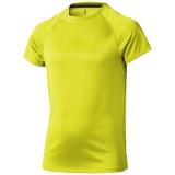 Elevate Dziecięcy T-shirt Niagara z krótkim rękawem z tkaniny Cool Fit odprowadzającej wilgoć (39012141)