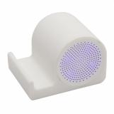 Głośnik z podstawką pod telefon Clearsound, biały z logo (R64319.06)