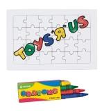 Puzzle, kredki świecowe (V7643-99)