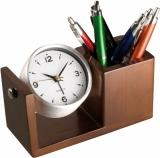 Zegar biurkowy z logo (2291801)