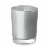 SELIGHT Mała szklana świeca z logo (MO9030-16)