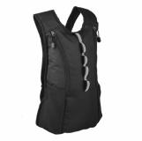 Plecak sportowy Kansas, czarny z nadrukiem (R08634.02)