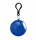 Ponczo przeciwdeszczowe w piłce niebieskie (20081-03)