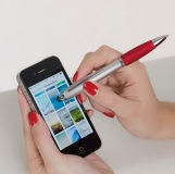 Długopis plastikowy do ekranów dotykowych z nadrukiem (1862305)