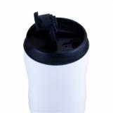 Kubek izotermiczny Tromso 250 ml, biały z logo (R08488.06)